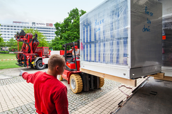 Delivery and installation of air conditioning technology at Chemnitz City Hall